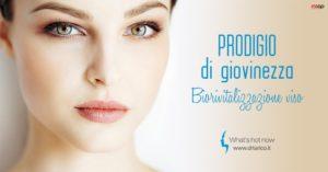 Read more about the article Biorivitalizzazione, rigenerazione soft di viso, collo e décolleté.