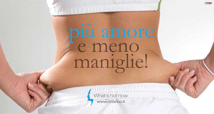 Read more about the article Le Maniglie dell'amore. Come eliminare quel grasso in eccesso… dal nome romantico.