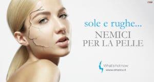Read more about the article Abbronzatura e rughe: i danni del sole e l'aiuto dell'Acido Ialuronico.