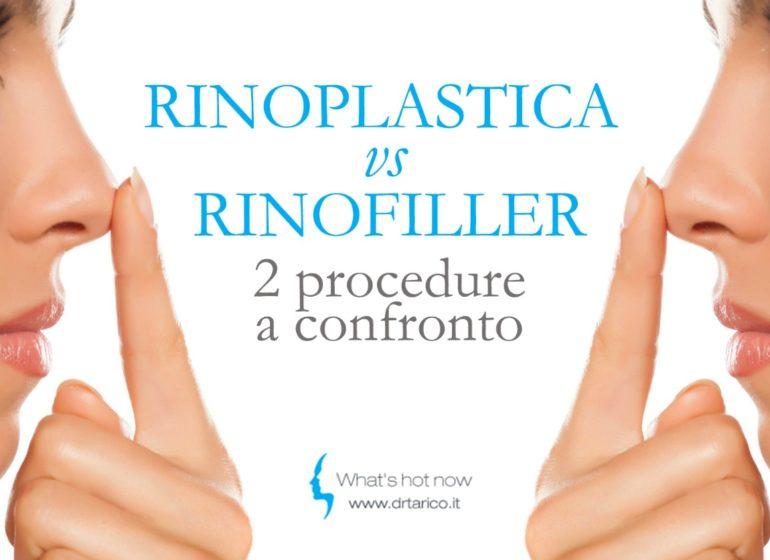Read more about the article Rinoplastica vs Rinofiller due diverse procedure a confronto