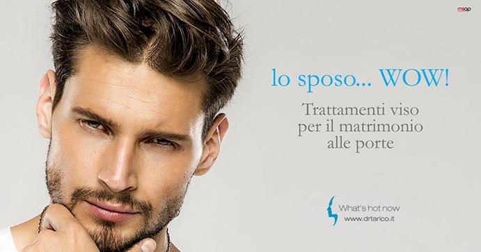 Read more about the article Sposo d'estate? Focus sul viso. Le nuove frontiere della Medicina estetica al maschile