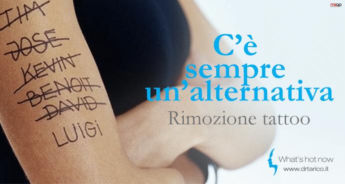 Read more about the article Rimozione tatuaggio? Si, ma rigenerando la pelle con il nuovo Discovery Pico. Il Laser del futuro è già presente.