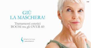Read more about the article Trattamenti estetici, è boom tra gli over 60.
