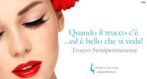 Read more about the article Trucco semipermanente in passerella