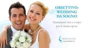 Read more about the article Obiettivo: Wedding da sogno! Trattamenti viso e corpo per le future spose
